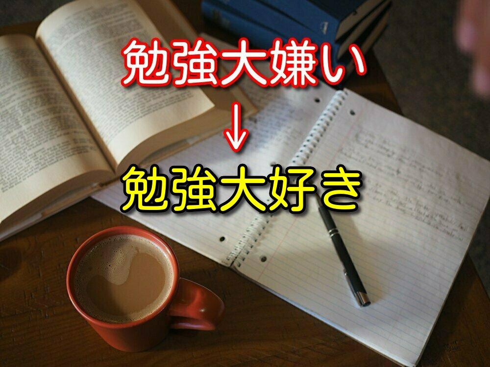 【社会人向け】勉強が大嫌いだった僕が勉強を大好きになった3つの理由